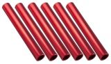 Aluminum Relay Baton Pack of 6, Red