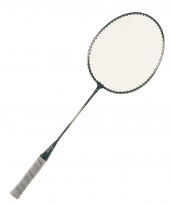 Heavy-Duty Steel Frame Badminton Racket