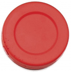 Hockey Puck, Orange Plastic, 1 Dozen