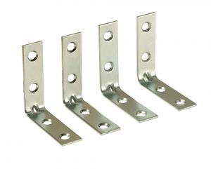 TABLE MOUNTING L-BRACKETS- SET OF 4