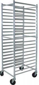 "Square Top Versatile Metal Racks, 20-1/4""W x 26""D x 69""H, Stainess Steel"