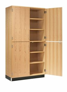 "36""WX22""DX84""H, CABINET, TALL, 4 SOLID DOORS"