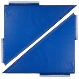 Softzone Free To Play Mat, Triangle 2-Pack - Blue