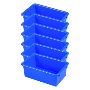 Stack & Store Tub without Lid - Blue 6 Pack