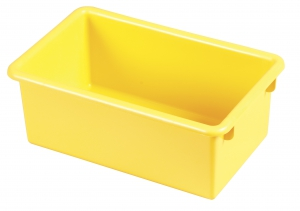 Stack & Store Tub without Lid - Yellow 6 Pack
