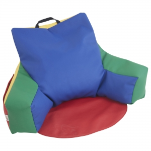 SoftZone Relax-N-Read Bean Bag Chair - Assorted