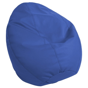 SoftZone Dew Drop Bean Bag Chair - Blue