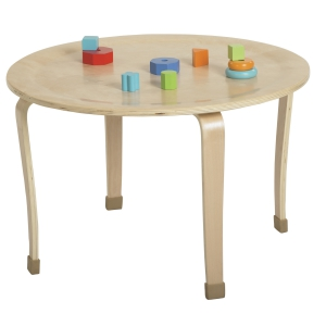 "30"" Round Bentwood Table with 16"" Legs"