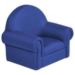 SoftZone Little Lux Toddler Chair - Blue