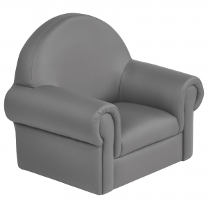 SoftZone Little Lux Toddler Chair - Grey