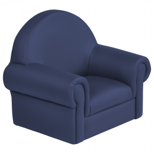 SoftZone Little Lux Toddler Chair - Navy