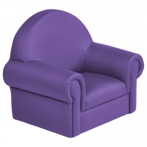 SoftZone Little Lux Toddler Chair - Purple