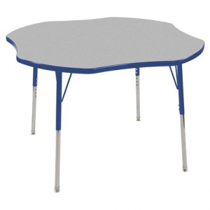 "Clover Table GBL-TS & 4-10""BLG Chairs"