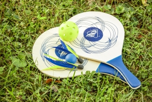 3-IN-1 Paddle Badminton Pickleball Combo Set