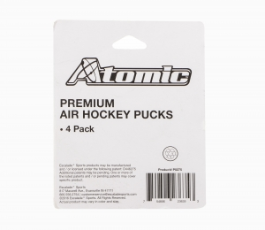 ATOMIC Premium Pucks (4 pack)