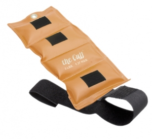 The Cuff Original Ankle and Wrist Weight - 3 lb - Gold