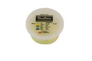 Therapy Putty Exercise Material - 2 Oz - Yellow - X-Soft