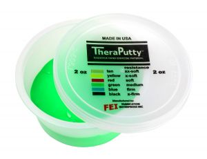 TheraPutty Scented exercise putty apple, green, medium, 2 ounce