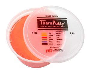 TheraPutty Scented exercise putty cherry, red, light, 1 pound
