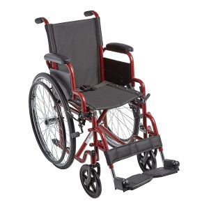 "Ziggo 14"" Wheelchair, Red"