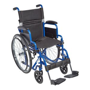 "Ziggo 16"" Wheelchair, Blue"