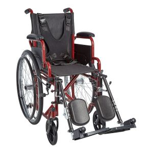 "Ziggo 12"" Wheelchair Accessory - Elevating Legrest"