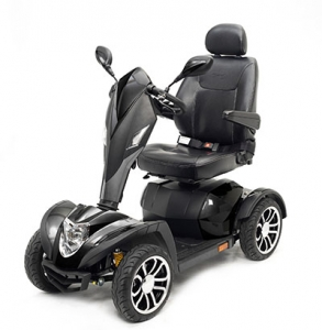 Drive, Scout Compact Travel Power Scooter, 4 Wheel, Extended Battery
