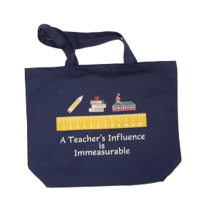 Tote Bag : A Teacher's Influence is Immeasurable