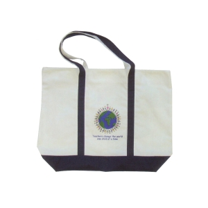Tote Bag : Teachers Change the World One Child at a Time