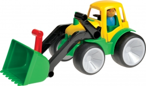 Tractor with Shovel