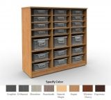 Cubby Storage Unit 3x3 with 12 Adjustable Shelves