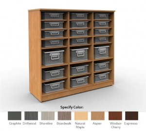 Cubby Storage Unit 3x3 with 12