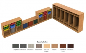 Classroom Storage Set including (2)