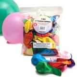 Balloons - 100 ct., Round & Long Balloons