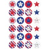 Themed Stickers - 3 sheets - Patriotic Stars