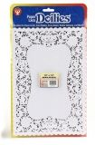 "Doilies - Specialty: 100 ct., 10""x14"" White Oblong"