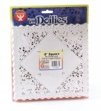 "Doilies - Specialty: 100 ct., 8"" White Square"