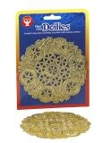 "Doilies - Round 12 ct., 4"" Gold"