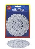 "Doilies - Round 12 ct., 4"" Silver"