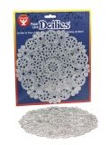 "Doilies - Round 12 ct., 8"" Silver"