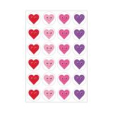Themed Stickers - 3 sheets - Happy Hearts