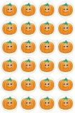 Themed Stickers - 3 sheets - Happy Pumpkins