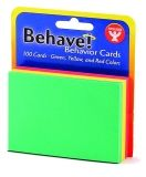 "Behavior Cards 3""x3"" - Green, Yellow & Red"