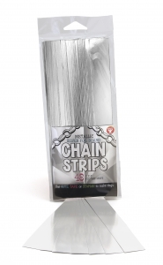 "Super Strips - Chain Strips 1"" x 8"" / 48 Metallic Silver Foil Board"