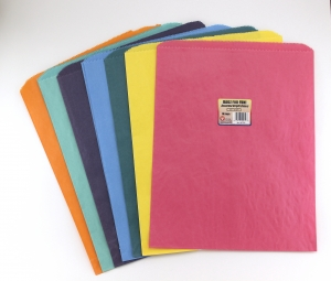 "Pinch Bottom Bag 6""x9""  100/pkg, Pink"