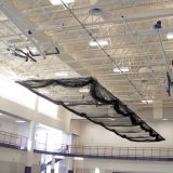 Ceiling Suspended Motorized Retractable Batting Cage For Baseball net included 10'H x 12'W x 70'L