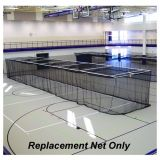 Replacement Indoor Tunnel Net 3/4 Mesh Nylon Netting 11'H x 12'H x 70'L