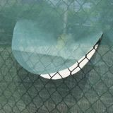 Half Moon Wind Flap for Windscreens 18 diameter