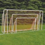 Portable Short Sided Powder Coated Goal 6'H x 12'W x 34D Net included