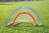 Large Pop Up Goal 6'W x 3'4H x 3'4D blue with Carry Bag